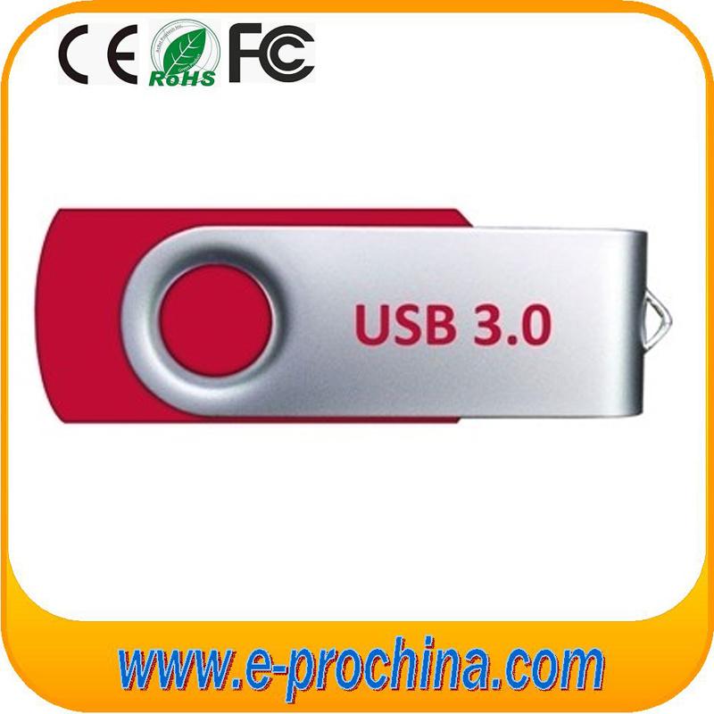 Customized Swivel USB Flash Memory Stick USB Pen Drive (ET001)