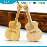 Woode Guitar Shape Customize Logo USB Flash Drive (TW071)