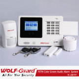 Wireless PSTN Color Screen Audio Alarm System