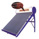 En12976 Closed Loop Copper Coil Solar Water Heater