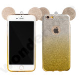 Cute and Glitter TPU Mobile Phone Case for iPhone and Samsung