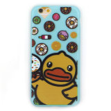 fashion Yellow Duck TPU Mobile Phone Cover for iPhone
