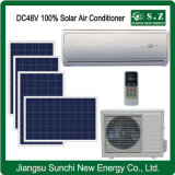 House 100% off Grid DC48V Good Using Split Type Solar Wall Air Conditioners (KFGRS-70II)