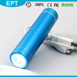 Portable Cylinder LED Flash Light 2600mAh Power Bank (EP007)