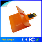 Foldable Plastic Business Card USB Memory Disk USB 2.0 Credit Card Flash Drive