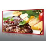 50 Inch FHD LCD Digital Menu Smart Advertising Display