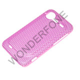 TPU Mobile Phone Case for HTC Incredible Mesh