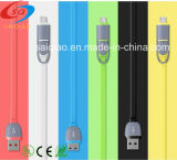 Wholesale Colorful Ultra Thin Multi 3 in 1 USB Cable