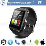 OLED Nano Waterproof Smart Bluetooth Modern Watches with Pedometer (V8)