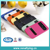 2015 Colorful Clear Leather Mobile Phone Case for Samsung S4