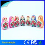 Colour Printing Russian Dolls USB Flash Drive for Good Luck Gift