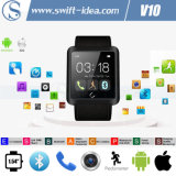 Compatible Android OS and Ios Smart Bluetooth 4.0 White Watches (V10)