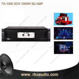 Ta-1000 2CH 1000W 8 Ohms Class D Audio Amplifier