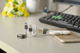 Three in One Mobile Phone Accessories USB 2.0 Charging Cable