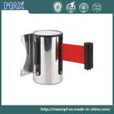 Stainless Steel Retractable Belt Stanchion Wall Cassette