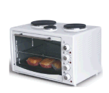 42L Greece Toaster Oven with 3 Hotplates CE A13 Approval