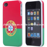Portugal Flag Pattern Back Protector Hard Protective Cover Case Shell for iPhone