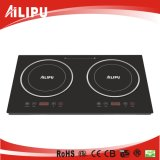 Plastic Housing Double Burner Induction Cooker Sm-Dic06