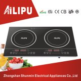4000W Plastic Housing and Touch Screen Double Burner Induction Cooker/Induction Cooktop