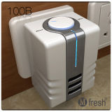 Portable Ionizer Air Purifier Mfresh 100b with High Efficient