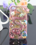 New Design! ! ! Cellular Phone Cover Luxry Bling Crystal Diamond Butterfly Bling Dragon Mobile Phone Hard Back Cover Case for iPhone 4 4G 4s 5g,