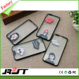Ultra Thin Clear Crystal TPU Soft Mobile Phone Case with Printing for iPhone
