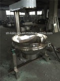 Sanitary Stainless Steel Natgas Heating Jacketed Kettle