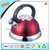 Red Painting Stainless Steel Kettles