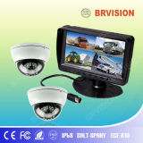 7 Inch Rearview System with Quad Monitor for Oversize Vehicles