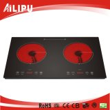 Electrical Appliance 2 Burner Infrared Cooker Multi Function Wholesale Price Sm-Dic06A