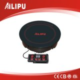 2015 Round Remote Control Induction Cooker with Built-in Installation for Hotpot