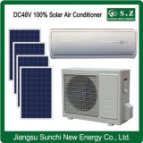 High Efficiency DC48V off Grid Wall Split Solar Air Conditioner for Solar Roof Tiles