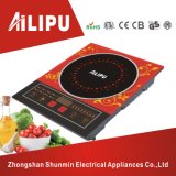 Hot Sale and Big Plate with Steel Ring Colorful Electric Induction Cooker
