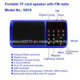 Portable TF Card Speaker with FM Radio (N519)
