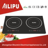 CE Certificate Hot Selling Double Burner Desktop Induction Cooktop