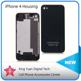 High Quality Mobile Phone Back Housing for iPhone4 / 4s Black White Battery Door Wholesale Back Glass Cover